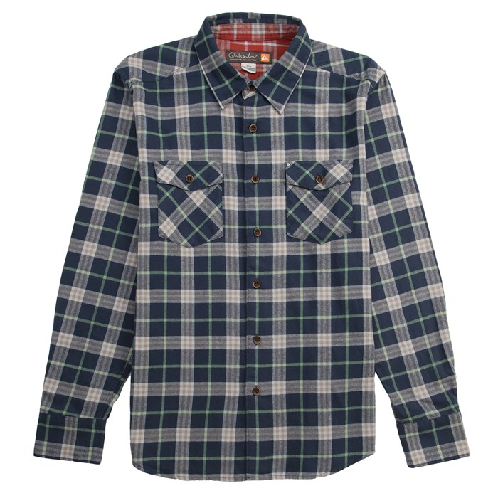 Quiksilver - Turner Island Long-Sleeve Button-Down Flannel