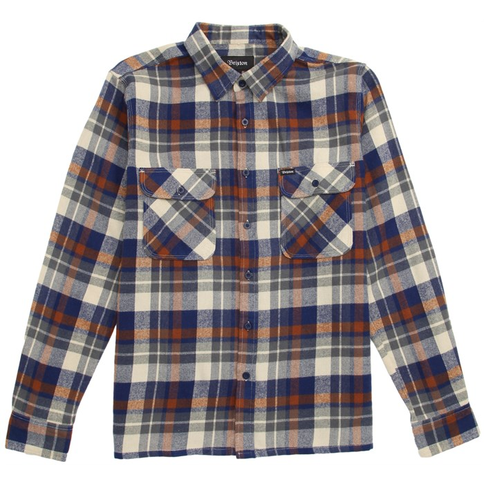Brixton - Archie Long-Sleeve Button-Down Flannel