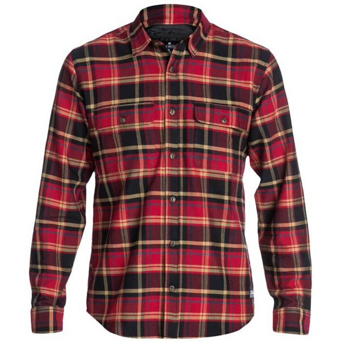 DC - Lamper Long-Sleeve Button-Down Shirt