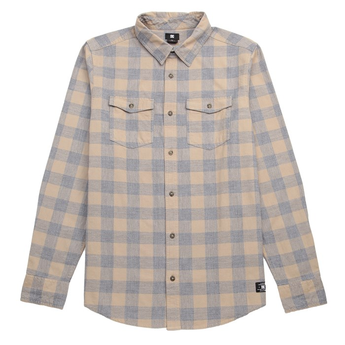 DC - Hatchet Long-Sleeve Button-Down Shirt