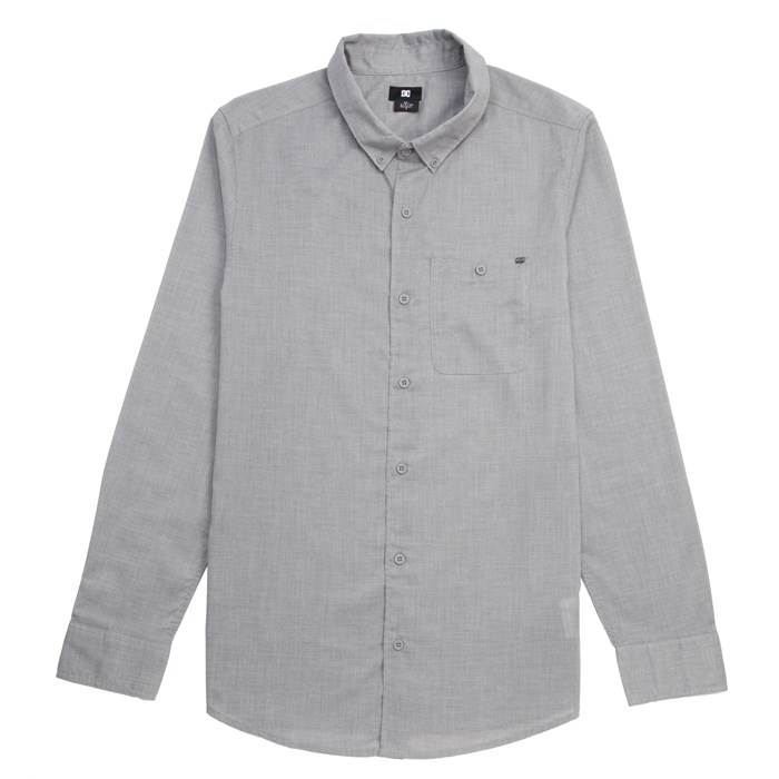DC - DC Chamber Long-Sleeve Button-Down Shirt
