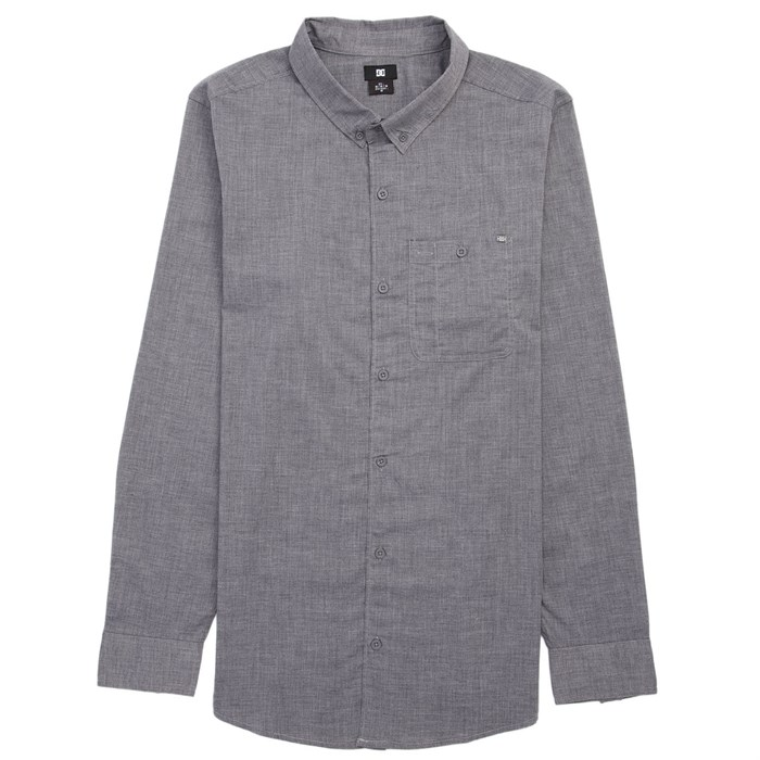 DC - Chamber Long-Sleeve Button-Down Shirt