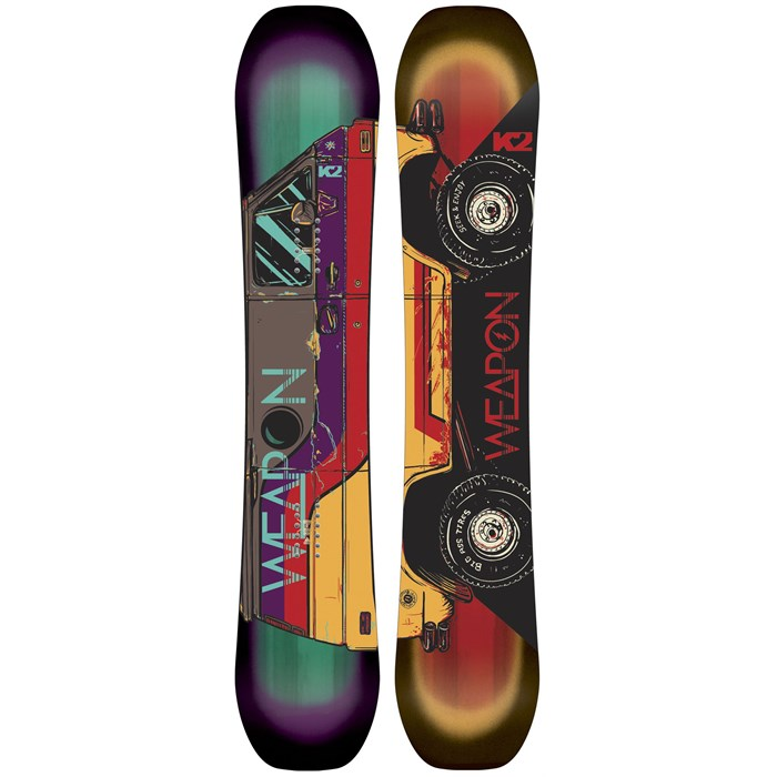 K2 - World Wide Weapon Snowboard 2015