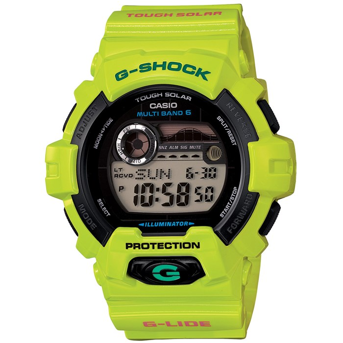 G-Shock - GWX-8900 GLIDE with Tide Graph Watch