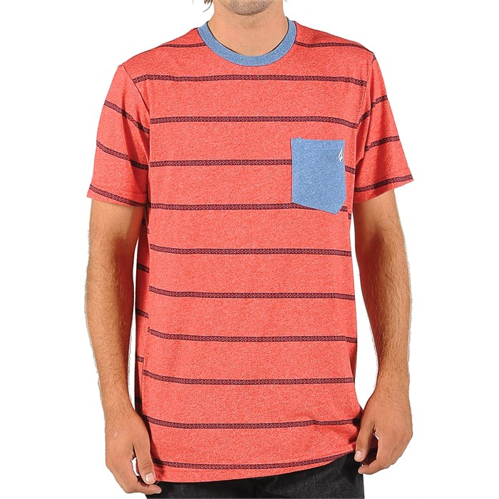 Volcom - Trip Stripe Pocket T-Shirt