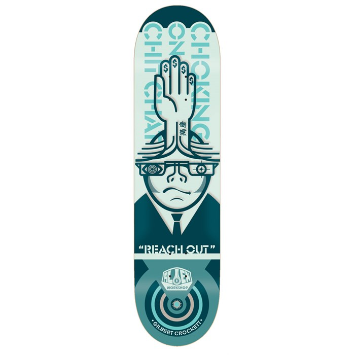 Alien Workshop - Crockett Choking 8.0 Skateboard Deck