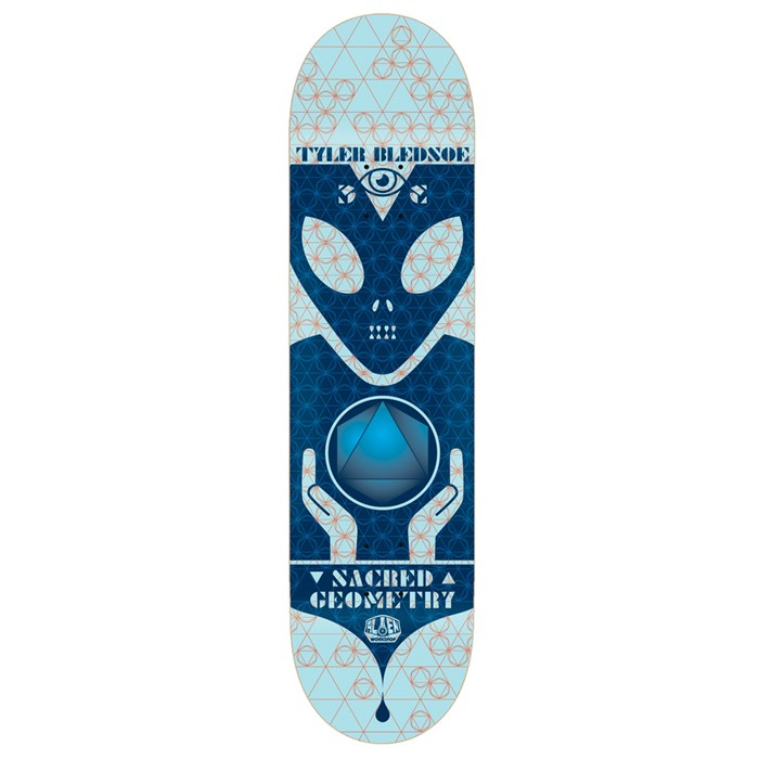Alien Workshop - Sacred Geometry Bledsoe 8.0 Skateboard Deck