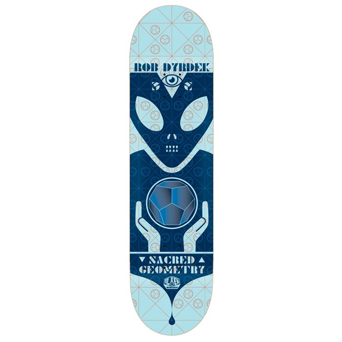 Alien Workshop - Sacred Geometry Dyrdek 7.875 Skateboard Deck