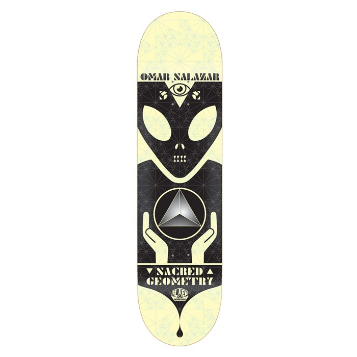 Alien Workshop - Sacred Geometry Salazar 8.125 Skateboard Deck