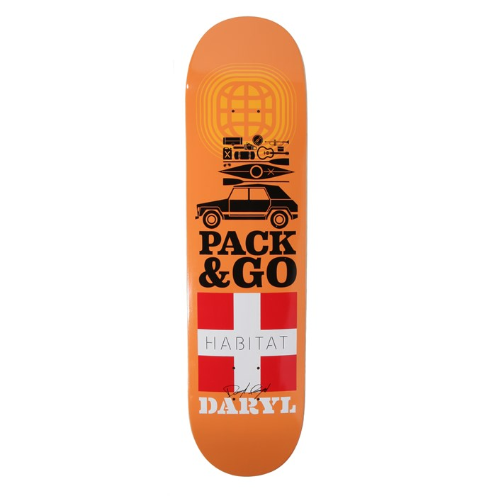 Habitat - Pack & Go Angel 8.0 Skateboard Deck