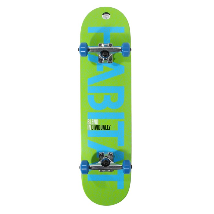 Habitat - Blend Individually Skateboard Complete