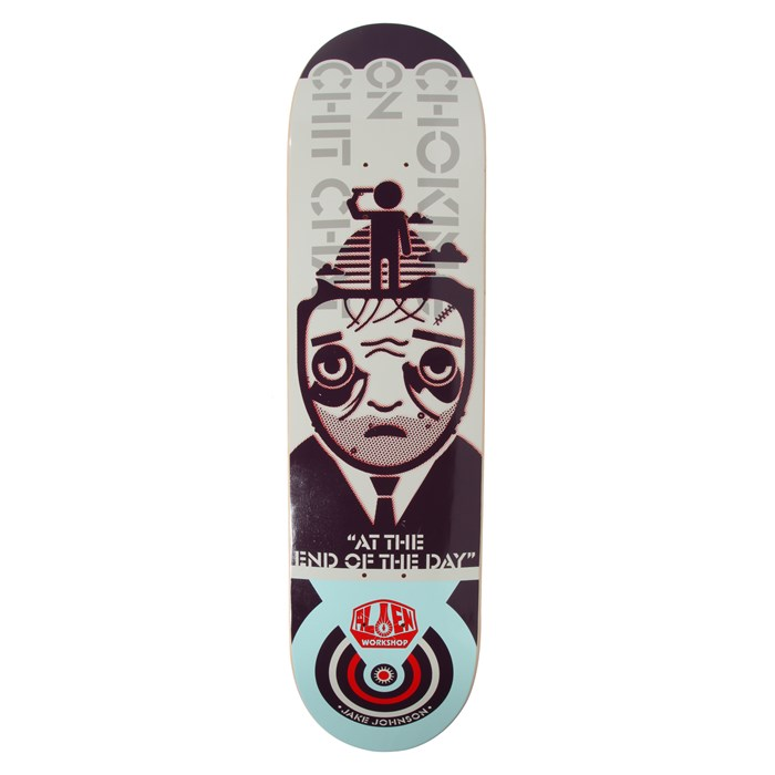 Alien Workshop - Johnson Choking 8.125 Skateboard Deck