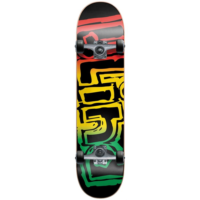 Blind - Rasta Youth Mid 7.3 Skateboard Complete - Kid's