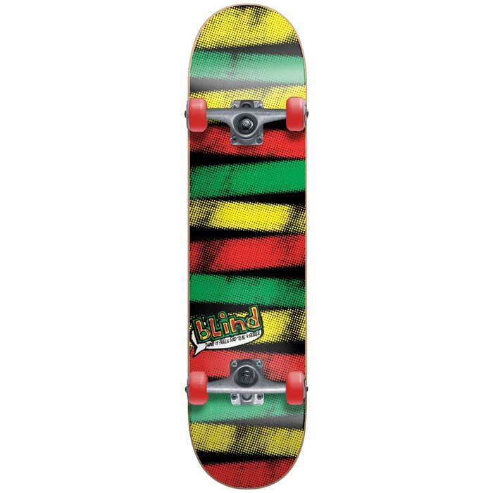 Blind - Rasta Stripes 7.75 Skateboard Complete