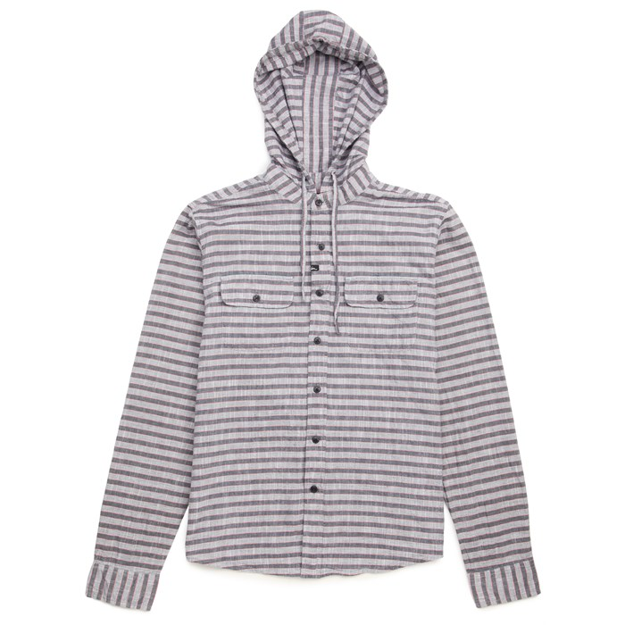 Imperial Motion - Greyson Hooded Long-Seeve Button-Down Shirt