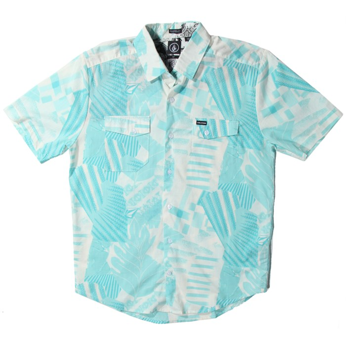 Volcom - Get Ripped Short-Sleeve Button-Down Shirt