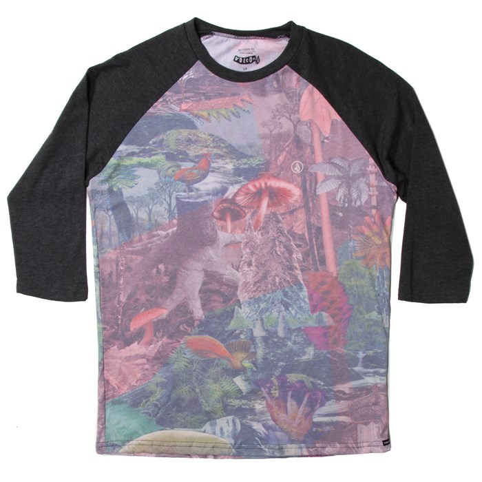 Volcom - Shroomed 3/4 Raglan Top