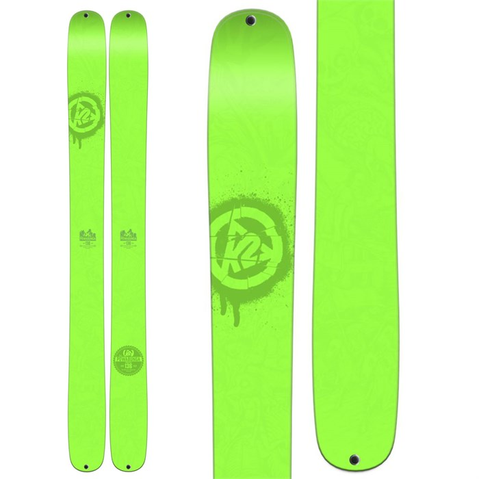 K2 - Shreditor 136 Powabunga Skis 2016