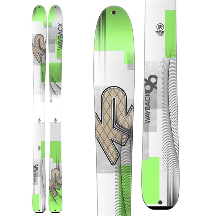 K2 - Wayback 96 Skis 2016