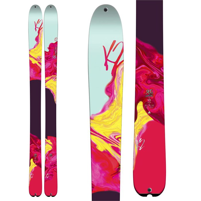 K2 - Potion 98Ti Skis - Women's 2015