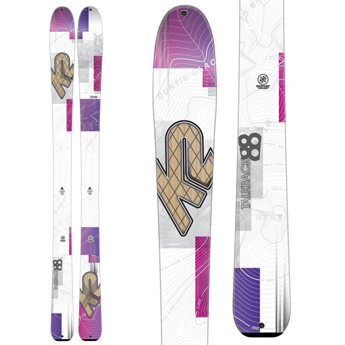 K2 - Talkback 88 Skis - Women's 2016