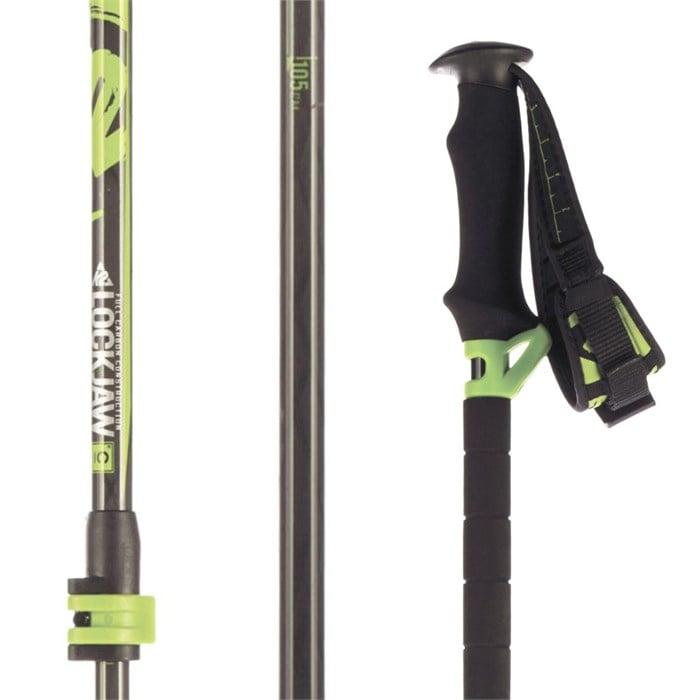 K2 - LockJaw Carbon Probe/Carbon Adjustable Ski Poles 2016