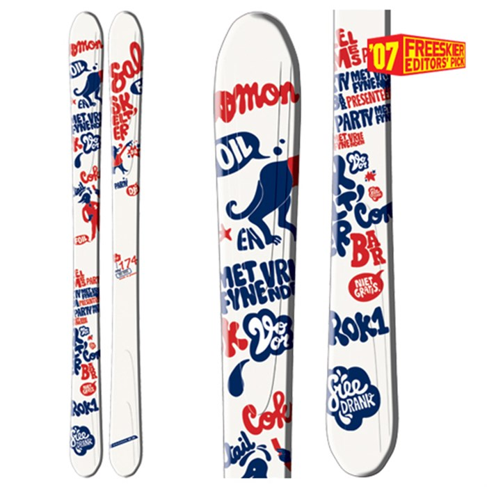 Salomon - Teneighty Foil Skis 2007