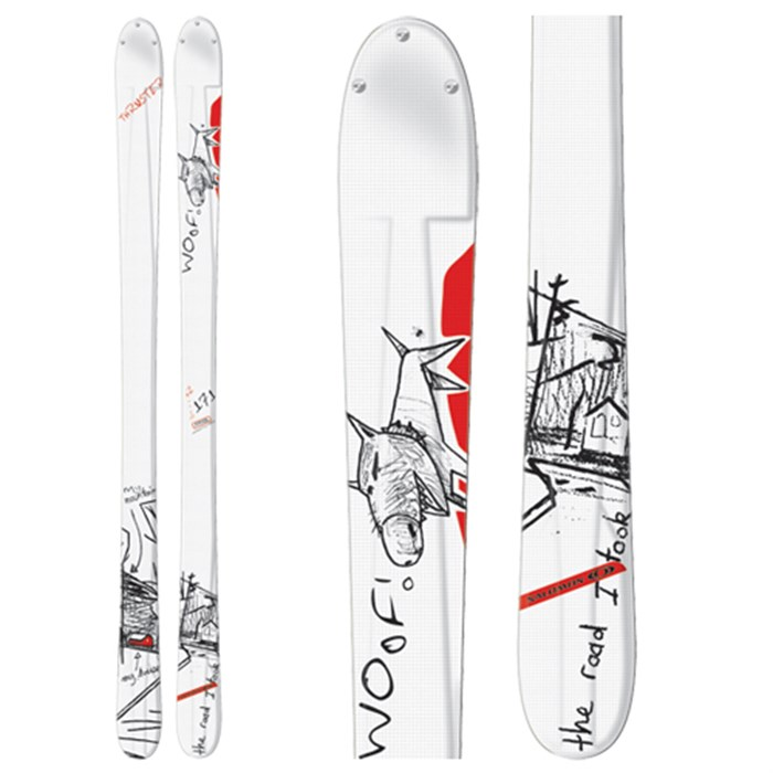 Salomon - Teneighty Thruster Skis 2007