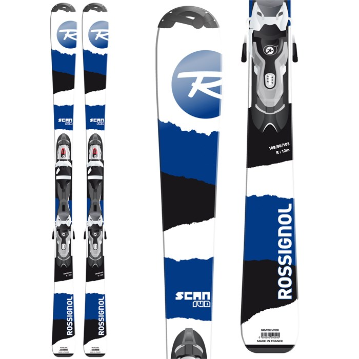 Rossignol - Scan Jr Skis + Xelium Jr 70 Bindings - Boy's 2015