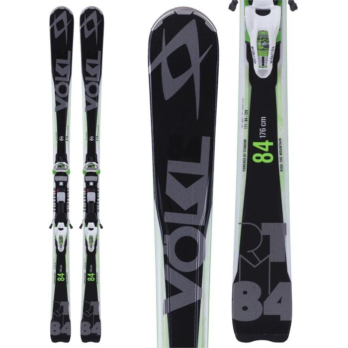 Volkl RTM 84 Skis + IPT Wide Ride 12.0 Bindings 2015