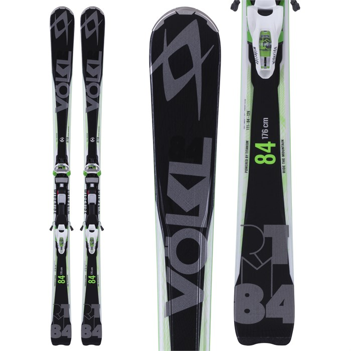 Volkl - RTM 84 Skis + iPT Wide Ride 12.0 Bindings 2015