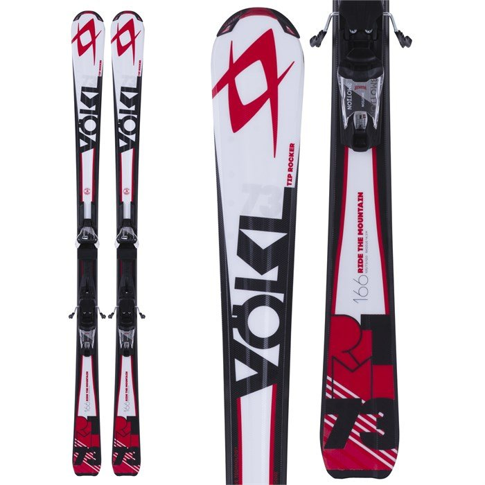 Volkl - RTM 73 Skis + 3Motion 10.0 Bindings 2015