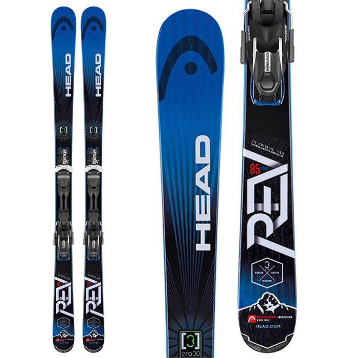 Head - REV 85 Pro Skis + PRD 12 Bindings 2015