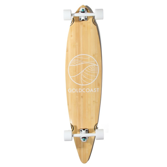 Gold Coast - Classic Bamboo Pintail Longboard Complete