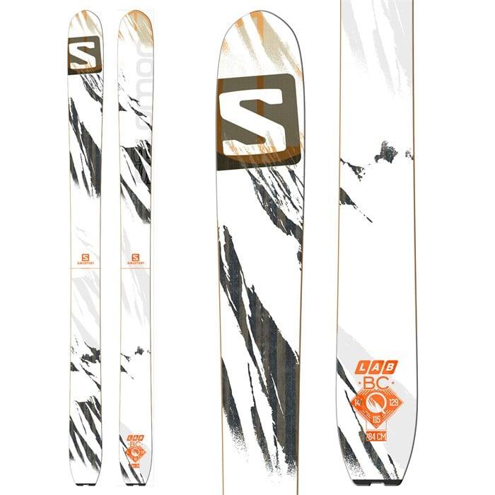 chaussures décontractées détails pour tout à fait stylé Salomon Q BC Lab Skis 2015