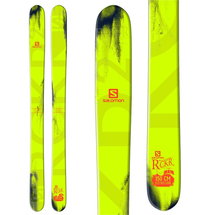 Salomon - Salomon Rocker2 Jr Skis - Boy's 2015