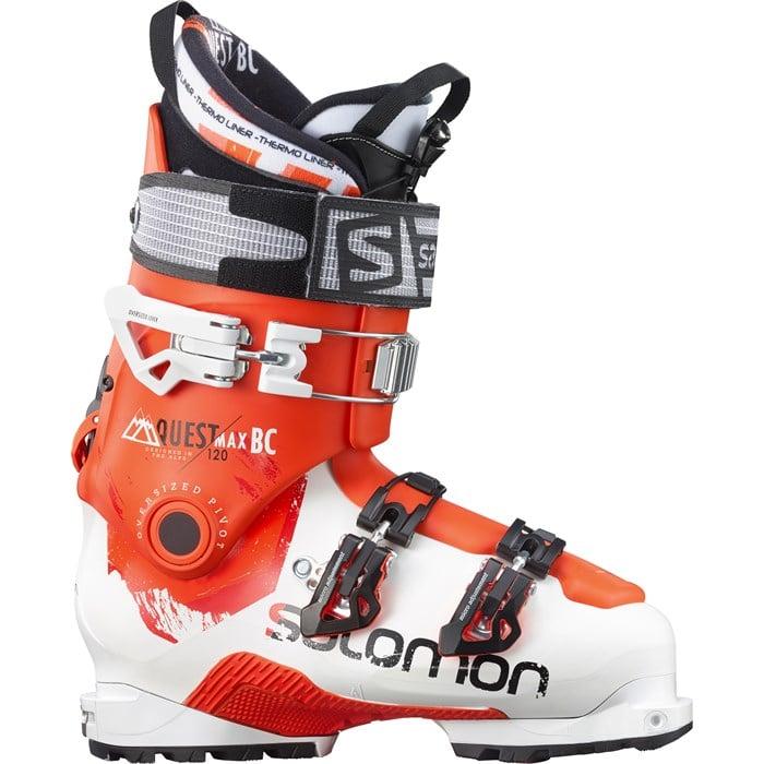 Salomon Mens Quest Max BC 120 Ski Boots