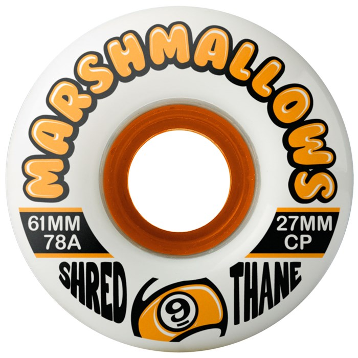 Sector 9 - Marshmallows 78a Shred Thane Longboard Wheels