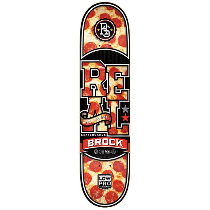 Real - Brock Hot N Ready Low Pro 2 Skateboard Deck