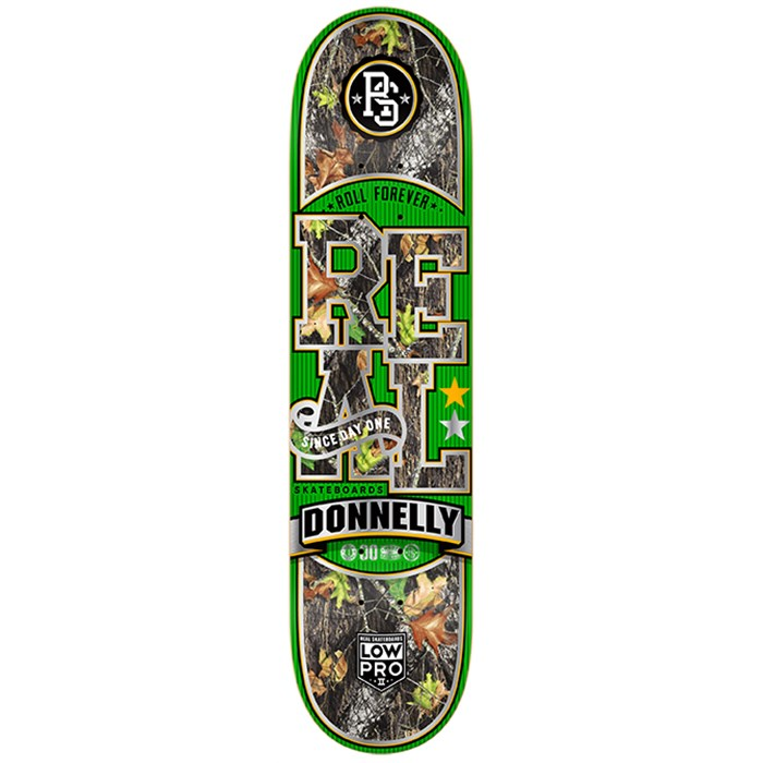 Real - Donnelly Backwoods Low Pro 2 Skateboard Deck