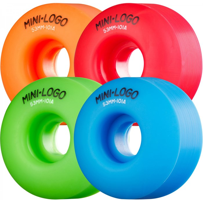 Mini Logo - 101a Skateboard Wheels