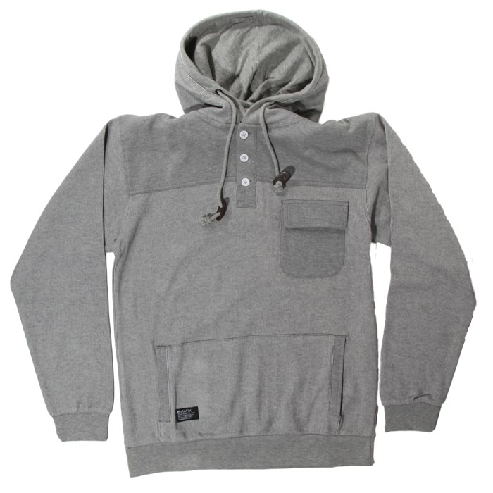 Matix - Road Taker Pullover Henley Hoodie
