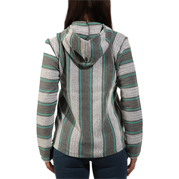 Senor Lopez - Pullover Hooded Poncho - Women's