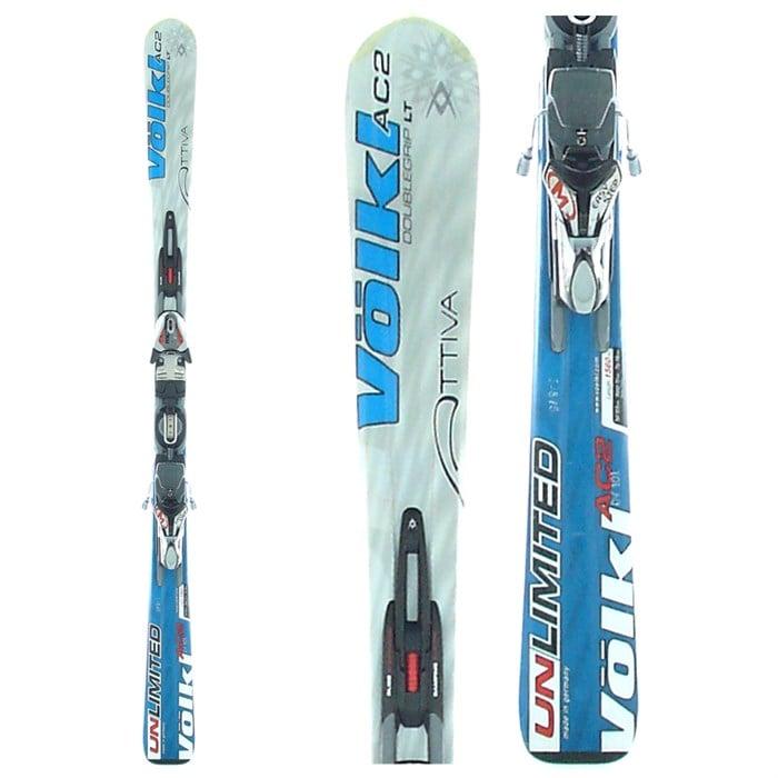 Volkl Attiva AC2 Skis + Bindings - Women's - Used 2006