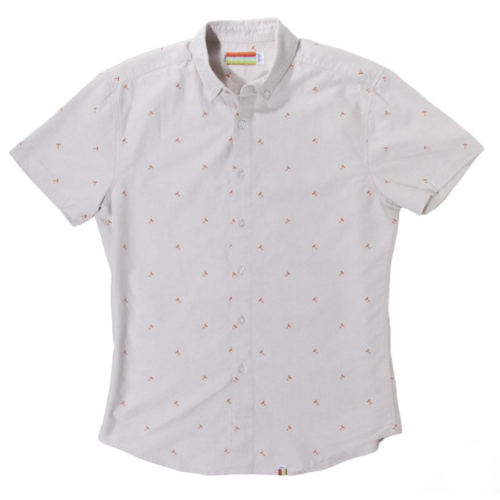 SLVDR - slvdr Tomichi Short-Sleeve Oxford Button-Down Shirt