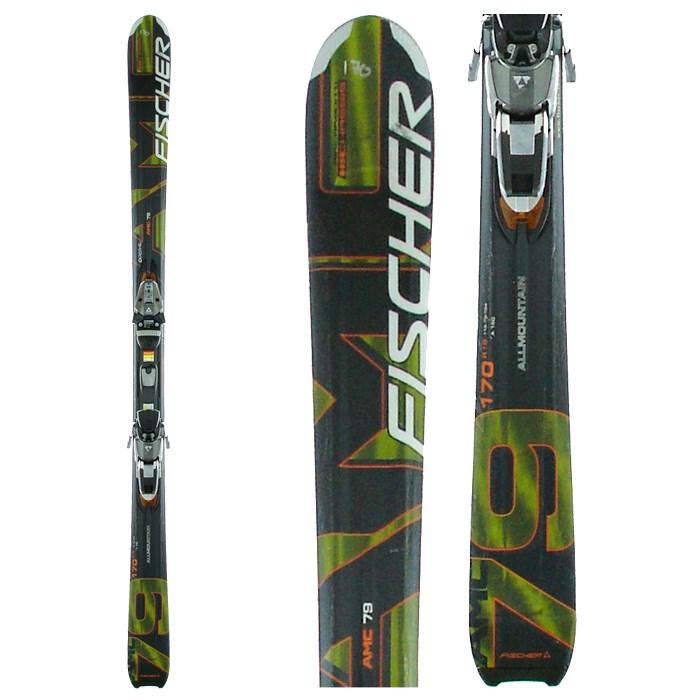 Fischer AMC 79 Skis + Bindings - Used 2006