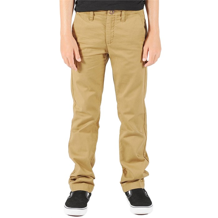 Volcom - Faceted Pants (Ages 8-14) - Boy's