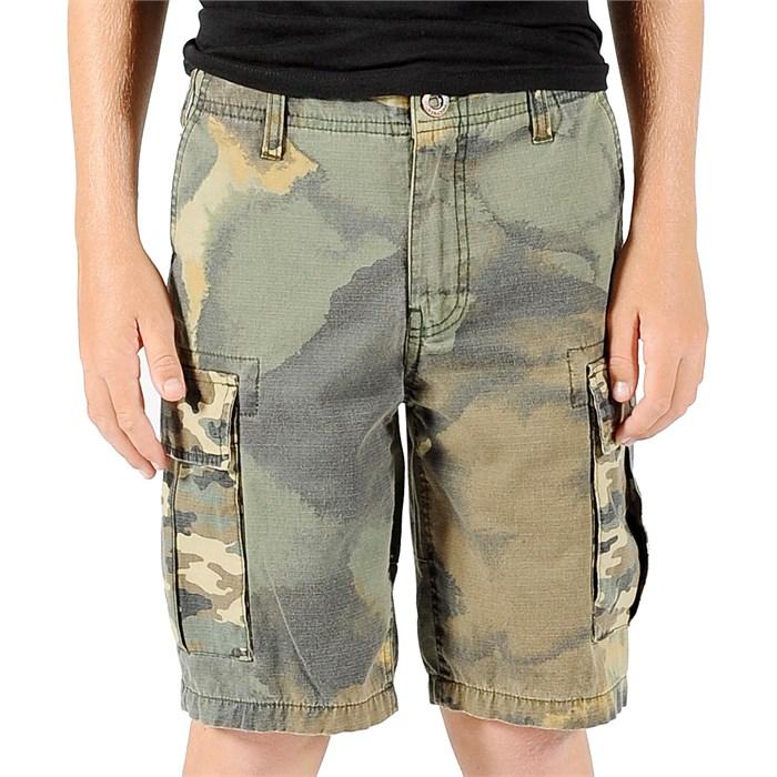 Volcom - Slargo Cargo Mixed Camo Shorts (Ages 8-14) - Boy's
