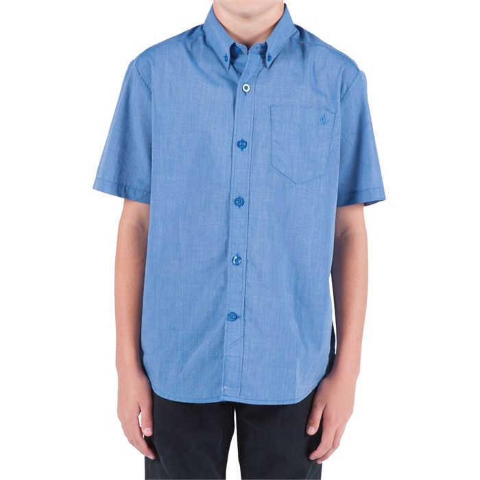 Volcom - Weirdoh Solid Shirt (Ages 8-14) - Boy's