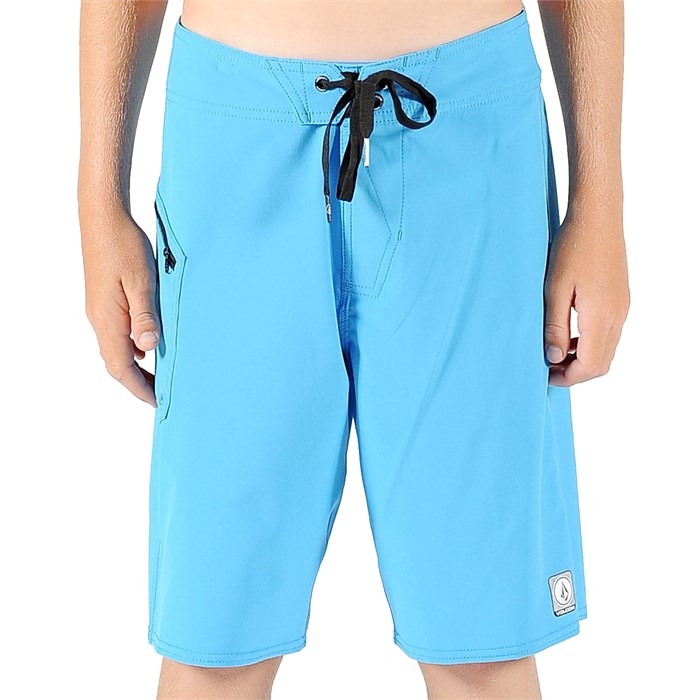 Volcom - Lido Solid Boardshorts (Ages 8-14) - Boy's